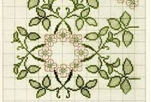 Cross Stitch -Vintage and Older / Designs come from Europe and Mexico / by Laura Jones