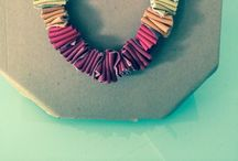 Artigianato /necklaces/ recycled things! / by Orly GomSiq