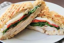 Panini's and More / Everything is better between grilled bread! / by Nancy Cahn