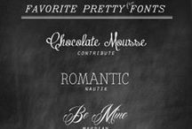 Fonts / by Jennifer Lutz