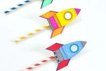 kid craft. / Crafts and ideas to make for my daughter.