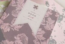 papergoods / All kinds of paper pretty! Wedding invitations, greetings, notecards & stationery.  / by Tamsin Seed