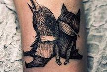 ink on skin...