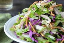 Salads / by Cynthia Shelton