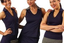 Smashing Golf & Tennis / These are some of our favorite golf and tennis skorts because they are designed with a buttery soft compression fabric that tones, slims and shapes to get rid of that muffin top!  / by Golf4Her