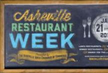 Asheville Restaurant Week / Celebrate this year's Asheville Restaurant Week, January 21-27, 2014. With $15 lunches and dinner options ranging from $20-60 per couple, it's a great opportunity to taste more of what Asheville has to offer! / by Visit Asheville