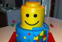Celebrate // Batman Lego Birthday Party / Big Boy Birthday Party, Bright Primary Colors, Lego's and don't forget Batman!