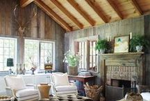 Interiors // Cabin Life / Because everyone needs a place to relax!