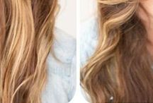 HAIR TUTORIALS / Quick & easy hair tips.