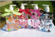 Hand Sanitizer's / Really cute and popular hand sanitizer's for all occasions and for great gifts.