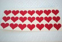 Hearts Vinyl Decals
