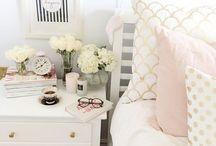 INTERIOR: WHITE & GOLD / White & Gold interior design inspiration.