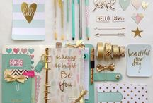 STATIONARY / Filled with lots of pretty stationary
