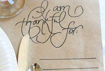 Thanksgiving / by Jessica Blocker