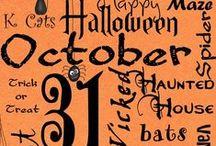 Halloween / by Melissa Bennett