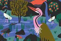 Snor loves illustration / Illustration finds!