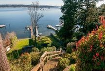 Serene Waterfront Properties / Because We Live in Seattle & Love the Water