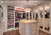 Extraordinary Closets / Inspirational Spaces to House Clothes & Shoes.