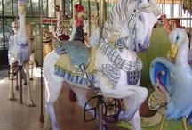 Carousal,Carnival &Amusement / Merry Go Round / by Nancy Allen