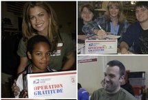 {it's #ThrowBackThursday} / ...taking a look back at the first ten years of Operation Gratitude...