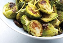 Brussel Sprout & Chickpea / Quick & healthy recipes  / by Suzi K