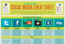 Digital Marketing Infographics / For marketing, web design, social media - sometimes looking at an infographic is easier on the eye than reading a blog.  / by Idea Marketing Group