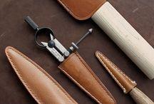 Leather Craftsmanship / Crafting fine leather goods.