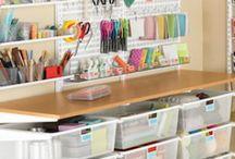 Organized / Everything neatly and beautifully organized.