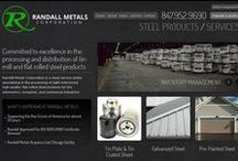 Manufacturing Web Design / by Idea Marketing Group
