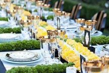 Tablescapes / Utensils in accurate gorgeous formation.