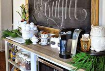 Coffee Stations / Homemade Coffee Shop