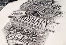Typography / by Lindsey Shumaker