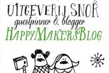 Guestblogger June - HappyMakersBlog / Every month we invite an inspiring blogger to blog for us. June is for Monique van der Vlist - @happymakersblog (HappyMakersBlog.com)