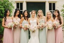 ______The Bridesmaids______ / Bridesmaid style: dresses & gowns    Rent the perfect looks for all of your bridal events on Style Lend, Download the app: www.stylelend.com