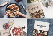 Krautkopf - Vegetarisch koken en genieten / We will publish this beautiful book Krautkopf in Dutch, fall 2016