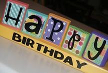 Birthdays! / by Jennie Carroll Little
