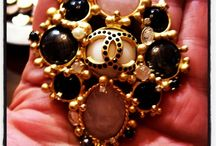 Vintage Chanel brooch / My vintage Chanel brooch collection / by Catherine B* Les 3 Marches Vintage Chanel and Hermès