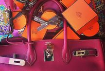 Birkin and HAC from #Hermès / I collect the Birkin bags from #Hermes .... different leather and color ! crocodile, Barenia, Ardennes, and of course my favorite the calfbox :)) enjoyed it with me !