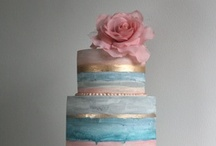 let them eat cake / wedding cakes: elegant cakes, modern cakes, playful cakes, classic cakes. a little bit of everything!  / by Bella Notte DC