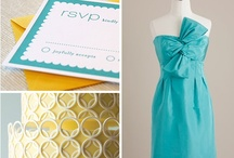 Color Schemes We Love / color combinations for weddings and other celebratory occasions!  / by Bella Notte DC