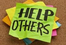 Helping Others / Fundraising, volunteering, lending a helping hand.