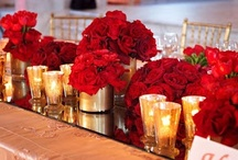 holiday wedding  / planning a classic & elegant red, white & gold holiday wedding  / by Bella Notte DC