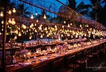 Look Up!  / ceiling treatments and overhead installations & eye candy for weddings  / by Bella Notte DC