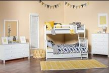 Mommy I Want A Bunk Bed! / Information on types of bunk beds, bunk bed safety, design, and decor.