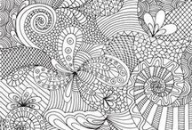 ♡∻Doodle Art∻♡ / The art of doodling. / by Kymm Stafford