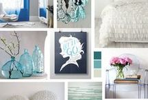 Mood Boards to Help Inspire Your Home Decor and Interior Design / Every Monday we are going to be sharing a new Mood Board with you. Look to the mood boards to get a feeling for the theme and a suggested color palette, then let your imagination run with it.