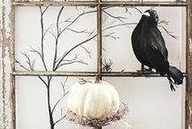 Fabulous Halloween Decor / The Epoch Design Halloween board is fun but trying to keep it classy too; less Elvira and more Morticia :) This board focuses on home decor for the fun October holiday.