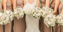 Bride/Bridesmaids' Bouquets