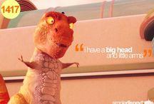 Poor T-Rex  / by Haley Knapp