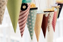 Handmade Paper Crafts and Decorations / Party decorations that I can make from scrapbook paper